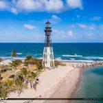 Pompano Beach Inlet Lighthouse Pompano Florida