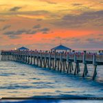 April 1st 2018 Easter Sunday Morning Sunrise Juno Beach Pier
