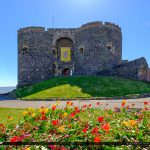 Carrickfergus Castle Front Entrance Belfast Northern Ireland