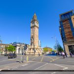 Albert Memorial Clock Street View Belfast Northern Ireland