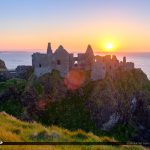 Dunluce Castle Northern Ireland Old Castle Ruins