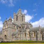 Christ Church Cathedral Dublin Republic of Ireland Wide View