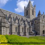 Christ Church Cathedral Dublin Republic of Ireland Side View