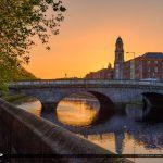 Cobble Stone Bridge River Liffey Dublin Republic of Ireland
