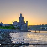 Blackrock Castle Cork Ireland Sunset at River Lee