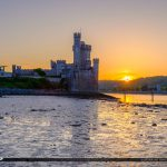 Blackrock Castle Cork Ireland Lowtide at River Lee