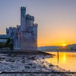 Blackrock Castle Cork Ireland Down by the River Lee Sunset