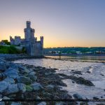Blackrock Castle Cork Ireland Along the Rocks