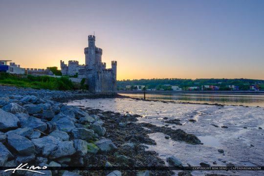 Blackrock Castle Cork Ireland Along the Rocks