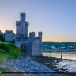 Blackrock Castle Cork Ireland Up Looking at the Port