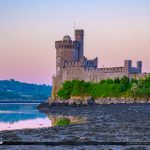 Blackrock Castle Cork Ireland Lowtide East View