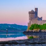 Blackrock Castle Cork Ireland River Lee Panoramic View