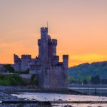 Blackrock Castle Cork Ireland Down by the Rocks Sunset