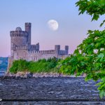 Blackrock Castle Cork Ireland Moonrise