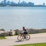 Bicycling Sheldon Lookout Ontario Canada Martin Goodman Trail