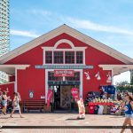 BeaverTails Pier 6 Toronto Canada Waterfront Red Building