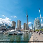 Waterfront Toronto Ontario Canada at the Marina