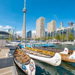 Canoe Rental CN Tower Waterfront Toronto Ontario Canada