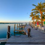 Boat Dock at Gilberts Resort Key Largo Florida Keys