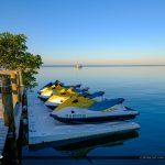 Jet Ski at Dock Gilberts Resort Key Largo Florida Keys