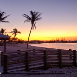 Boardwalk at Beach Sunrise Sombrero Beach Marathon Florida Keys