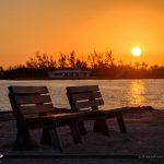 Beanch at Sunrise Sombrero Beach Marathon Florida Keys