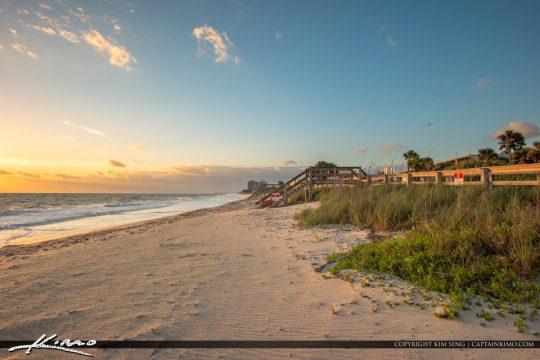 Along the Beach Jaycee Park Vero Beach Florida