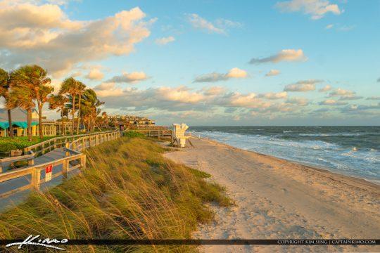 Beach and Boardwalk Jaycee Park Vero Beach Florida