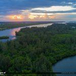 Indian River Sunset Vero Beach Florida