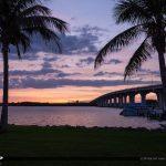 Cloudy Sunset Merril P Barber Bridge Vero Beach Florida