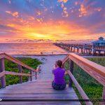 Sunrise Juno Beach Pier May 13 2018