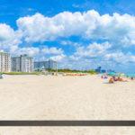 Miami Beach South Beach Dade County Bright Blue Water