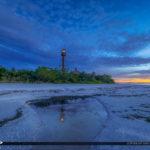 Sanibel Lighthouse at Lighthouse Beach Park During Sunrise