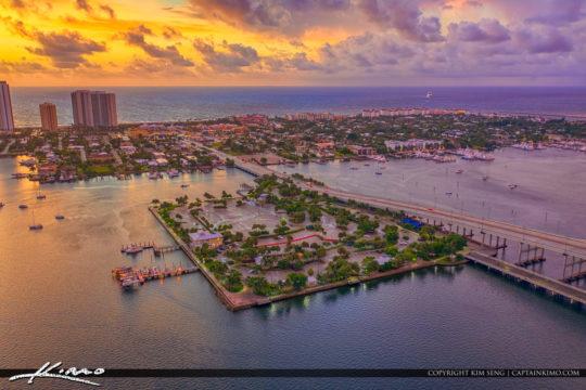 Phil Foster Park Palm Beach County Florida Sunrise Lake Worth La