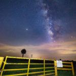Milkyway Over Okeechobee Florida at the Gate
