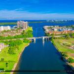 North Palm Beach Waterway Singer Island Bridge Golf Course