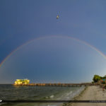 Rod and Reel Pier Anna Maria Florida Rainbow
