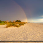 Anna Maria Island Florida Rainbow at Beach