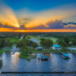 Windy Point Boat Ramp Lake Placid Florida Sunset