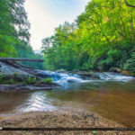 Cullasaja River Highlands North Carolina Blue Ridge Parkway Stre