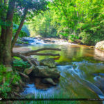 Cullasaja River Highlands North Carolina Blue Ridge Parkway Beau