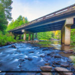 Dupont State Forest North Carolina Bridge Stream Staton Rd