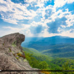 The Blowing Rock Mountain View Blue Ridge Parkway at Watauga Cou