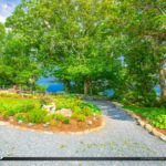 The Blowing Rock Mountain and Lush Garden