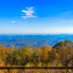 Blue Ridge Parkway View from the Overlook Panorama North Carolin