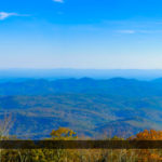 Blue Ridge Parkway Mountain View Wide Panorama North Carolina