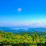 Blue Ridge Parkway Overlooking the Mountains North Carolina