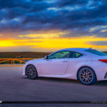 Lexus Sports Car at Coral Springs Sunset