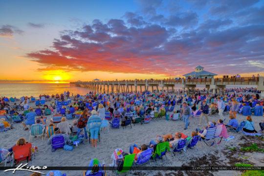 Easter Morning Sunrise 2019 Juno Beach Pier