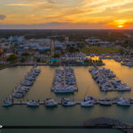 Sunset Fort Piercce Marina Sunrise City Florida